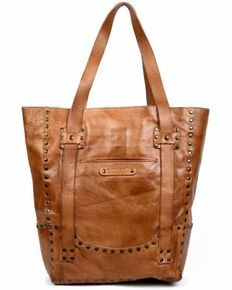 Evolutions Women's Shae Studded Tote Bag, Tan, hi-res