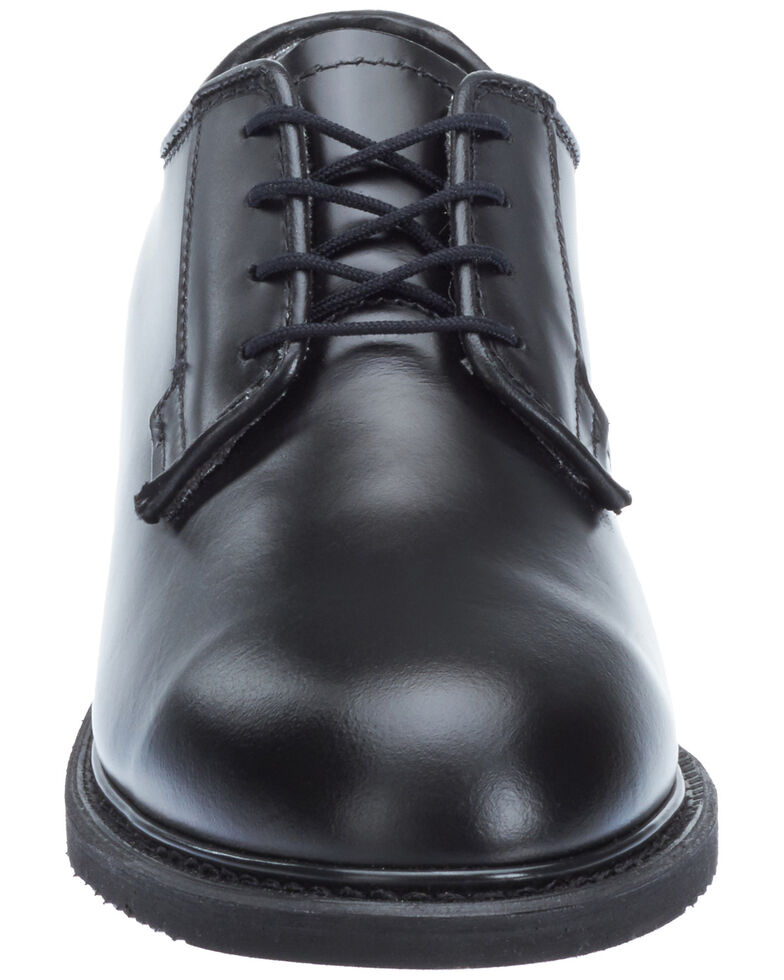 Bates Women's Lites Balck Oxford Shoes - Round Toe, Black, hi-res