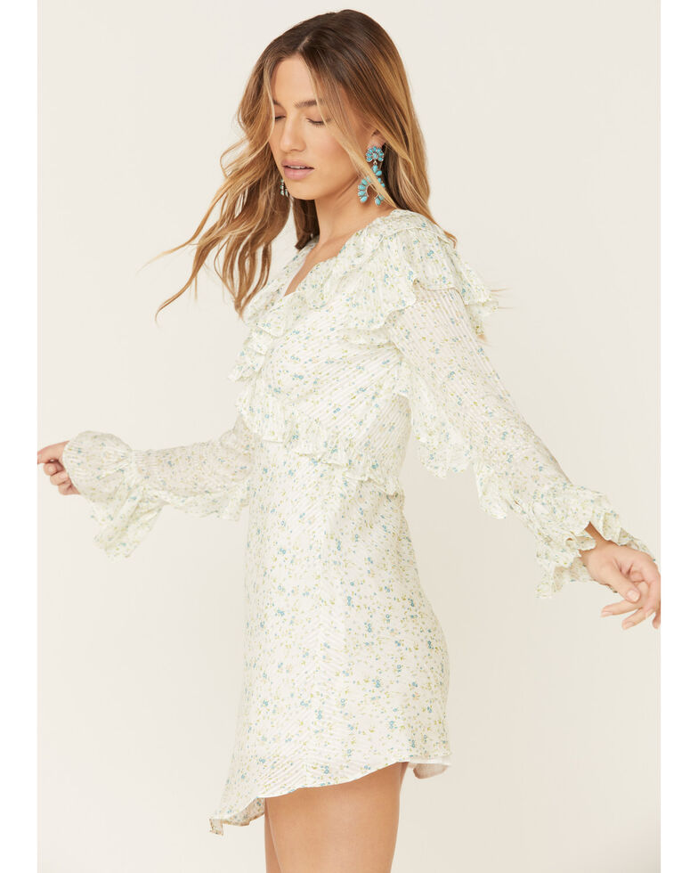 Free People Women's Sweetest Thing Mini Dress, Ivory, hi-res