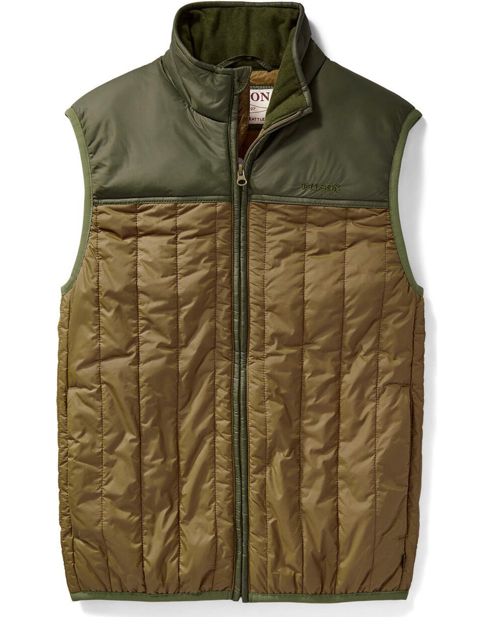 Filson Men's Field Olive Ultra-Light Vest , Olive, hi-res