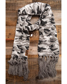 Idyllwind Women's Cozy Town Camo Scarf, Camouflage, hi-res