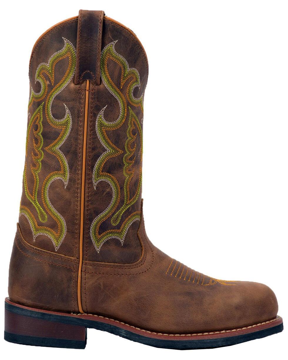 Laredo Women's Ainsley Western Boots - Steel Toe, Tan, hi-res