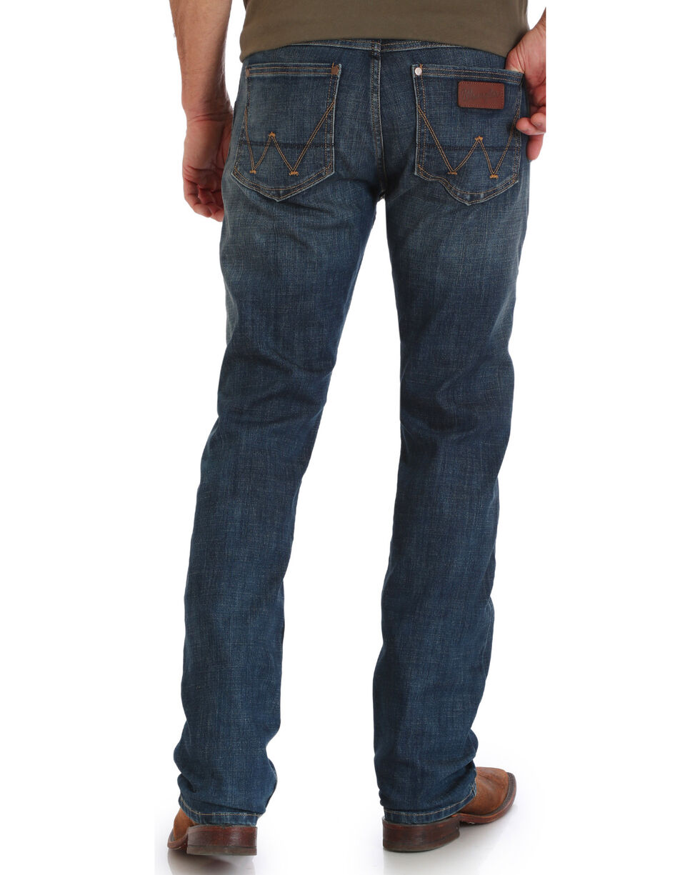 Wrangler Retro Men's Drummond Slim Fit Jeans - Straight Leg, Indigo, hi-res