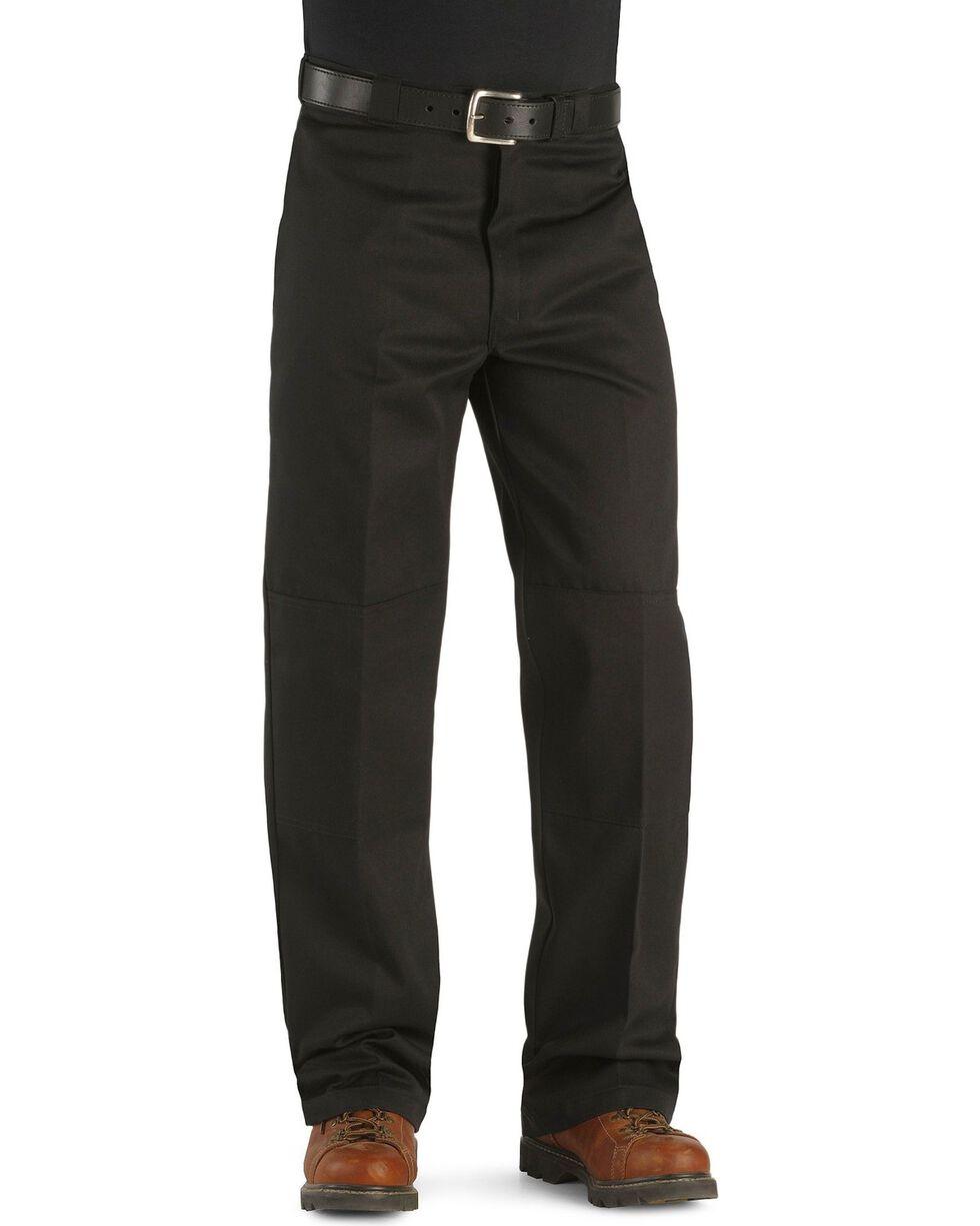 Dickies Men's Loose Fit Double Knee Work Pants, Black, hi-res
