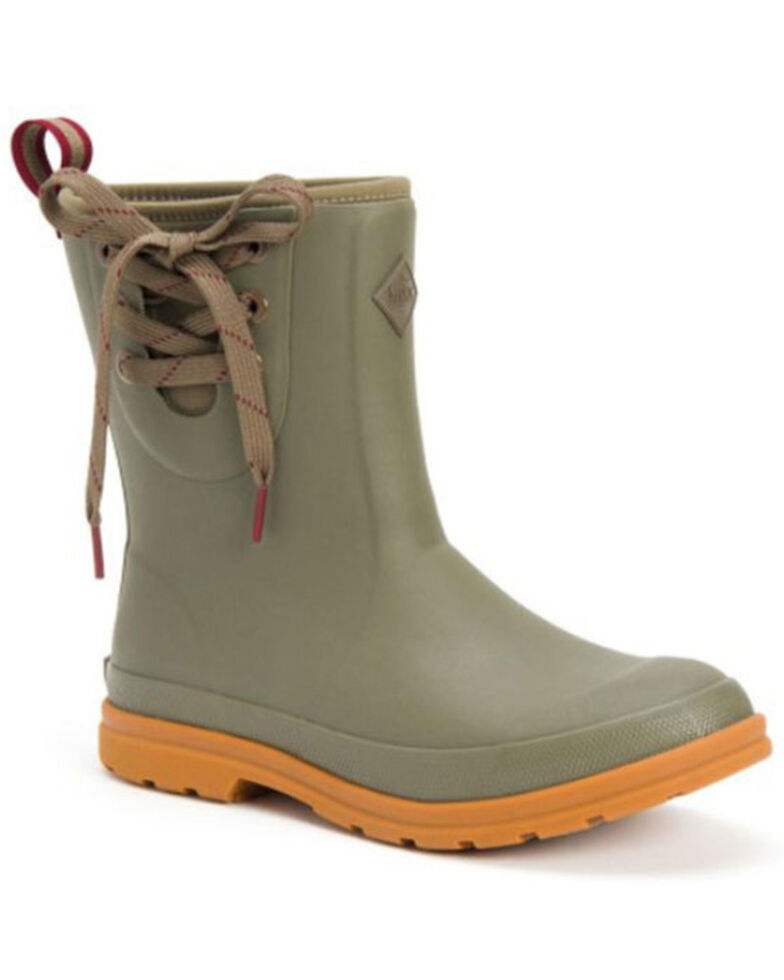 Muck Boots Women's Taupe Muck Originals Rubber Boots - Soft Toe, Taupe, hi-res