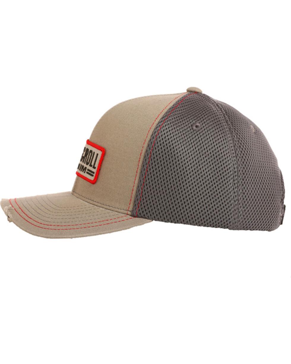 Rock & Roll Cowboy Men's Patch Logo Cap, Charcoal, hi-res