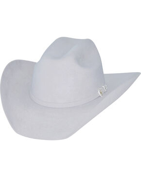Bullhide Kids' Silver Belly Legacy 8X Fur Blend Cowboy Hat, Silver Belly, hi-res