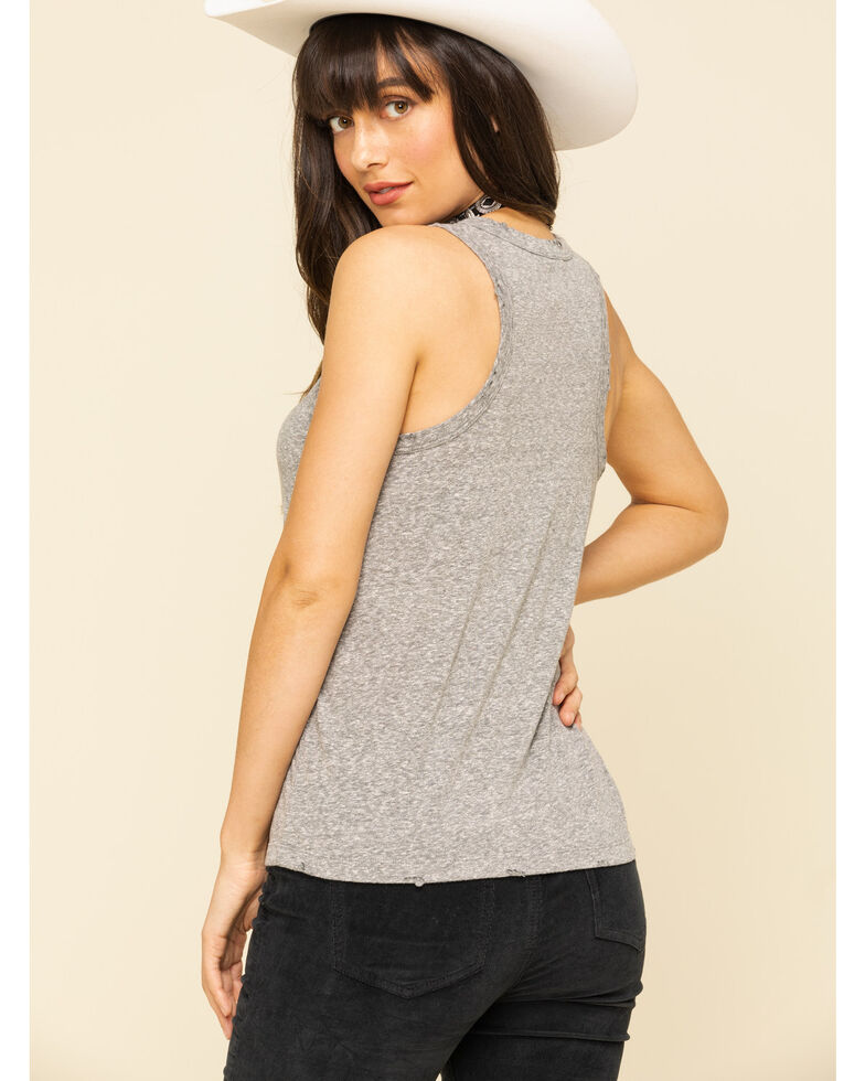 White Crow Women's Grey Tequila Lime Tank Top, Grey, hi-res