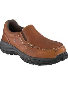 7856b693f8b Rockport Works Men s Extreme Light Slip-On Oxford Work Shoes - Composite Toe