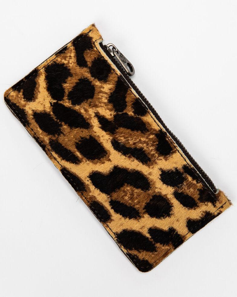 Shyanne Women's Leopard Credit Card Wallet, Leopard, hi-res