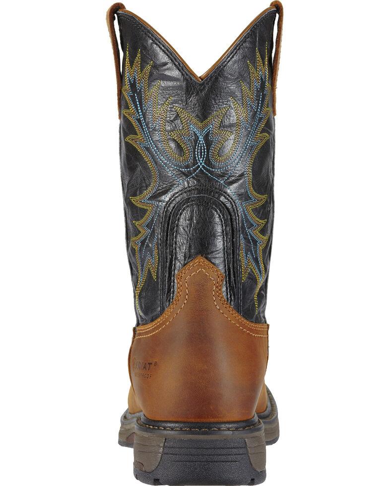 88bae67f494 Ariat Men's Workhog H2O Waterproof Steel Toe Western Work Boots