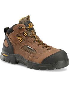 Carolina Men's Shenandoah Work Boots, Dark Brown, hi-res