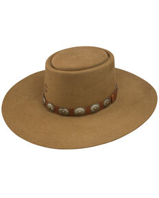 Charlie 1 Horse Women's High Desert Wool Hat, Pecan, hi-res