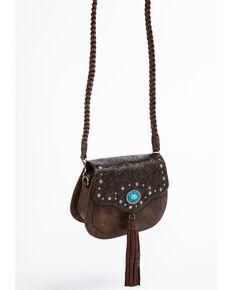 afa031293428 Shyanne Women s Katrina Tassel Turquoise Concho Crossbody Bag