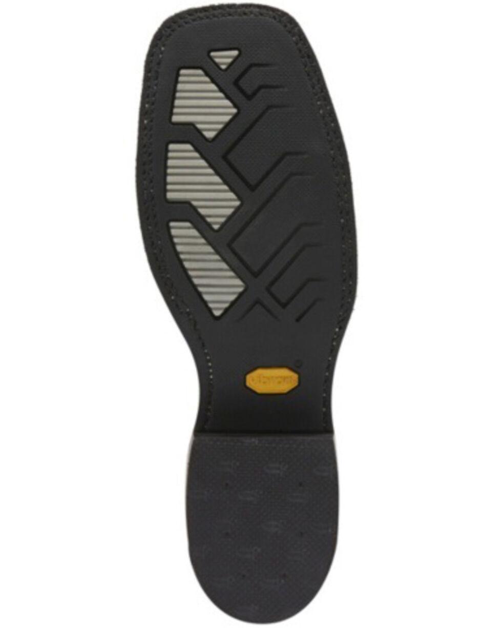 Justin Men's Bender Cocoa Western Boots - Wide Square Toe, , hi-res