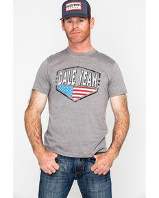 Rock & Roll Cowboy Dale Brisby Graphic T-Shirt , Grey, hi-res
