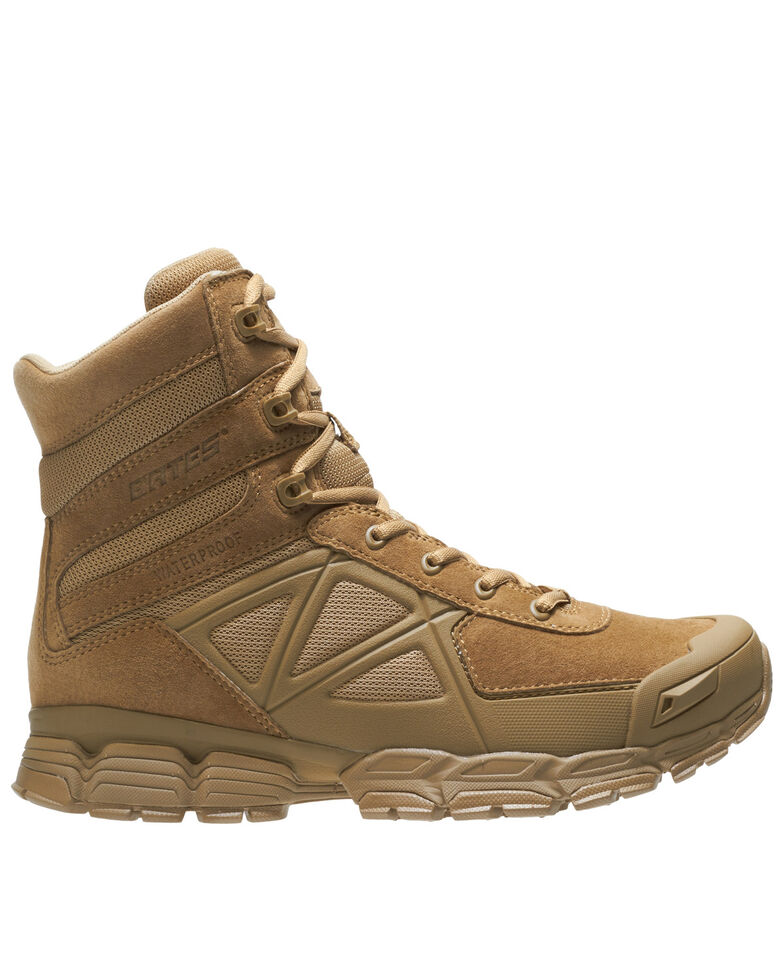 Bates Men's Velocitor Waterproof Work Boots - Soft Toe, Olive, hi-res