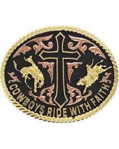 Cody James® Men's Ride With Faith Belt Buckle, Multi, hi-res