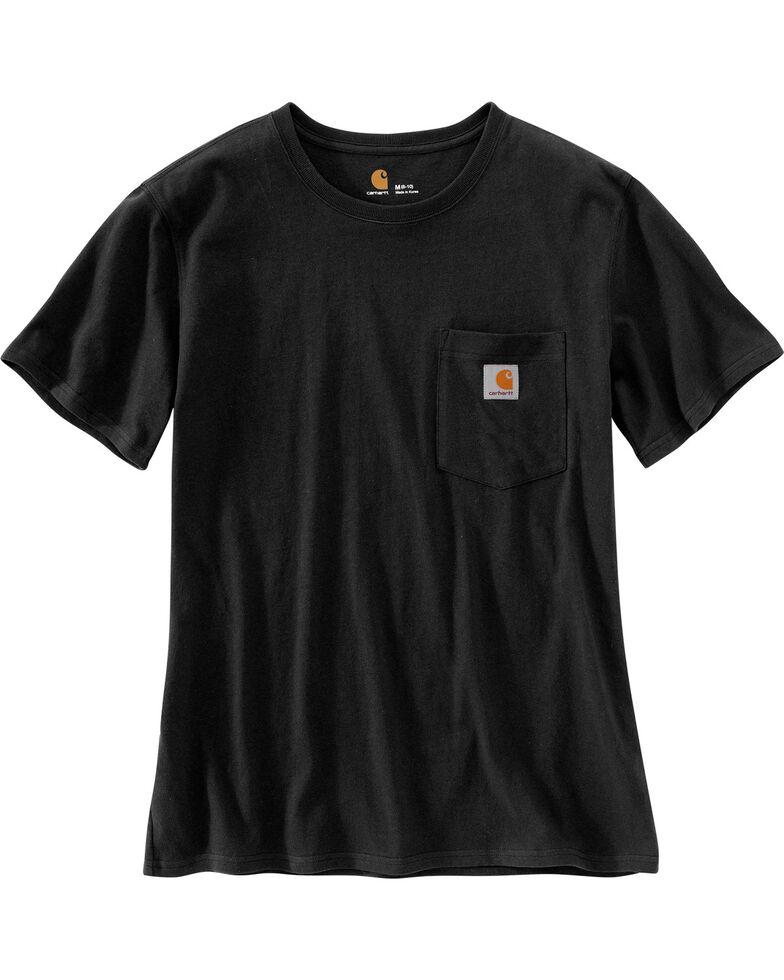Carhartt Women's Workwear Pocket T-Shirt, Black, hi-res