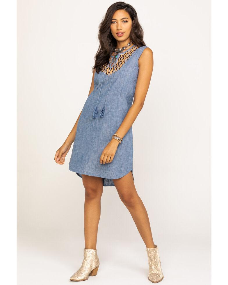 Ariat Women's Just Us Dress, Blue, hi-res