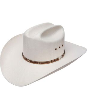 Resistol 10X George Strait Kingman Straw Hat, Natural, hi-res