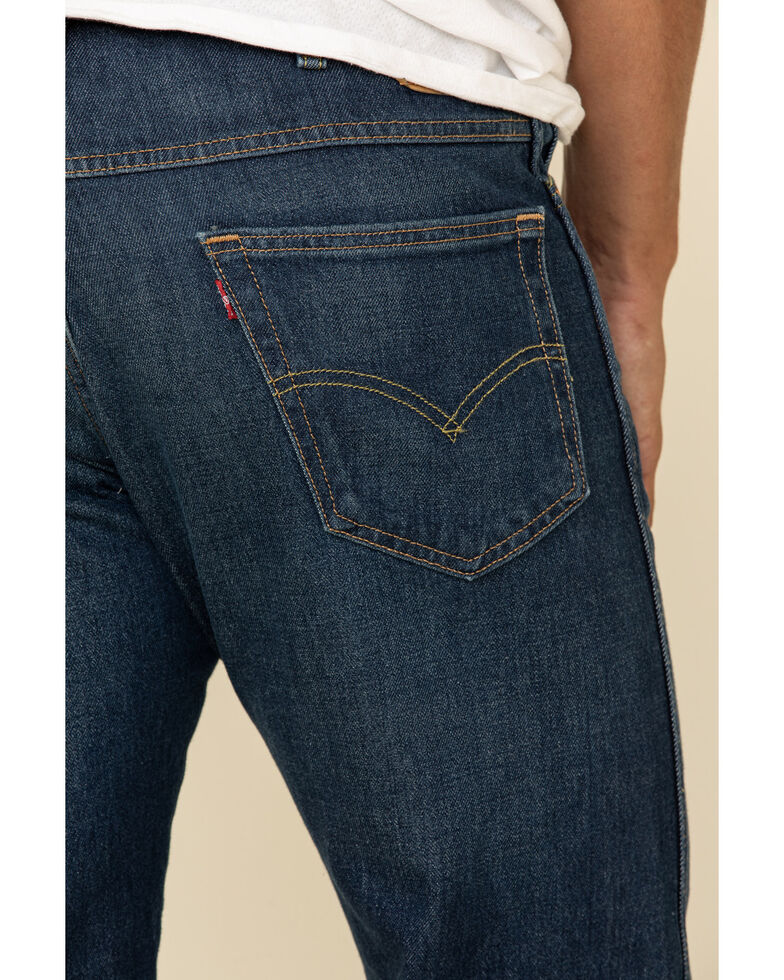 Levi's Men's So Lonesome Stretch Straight Leg Jeans , Blue, hi-res