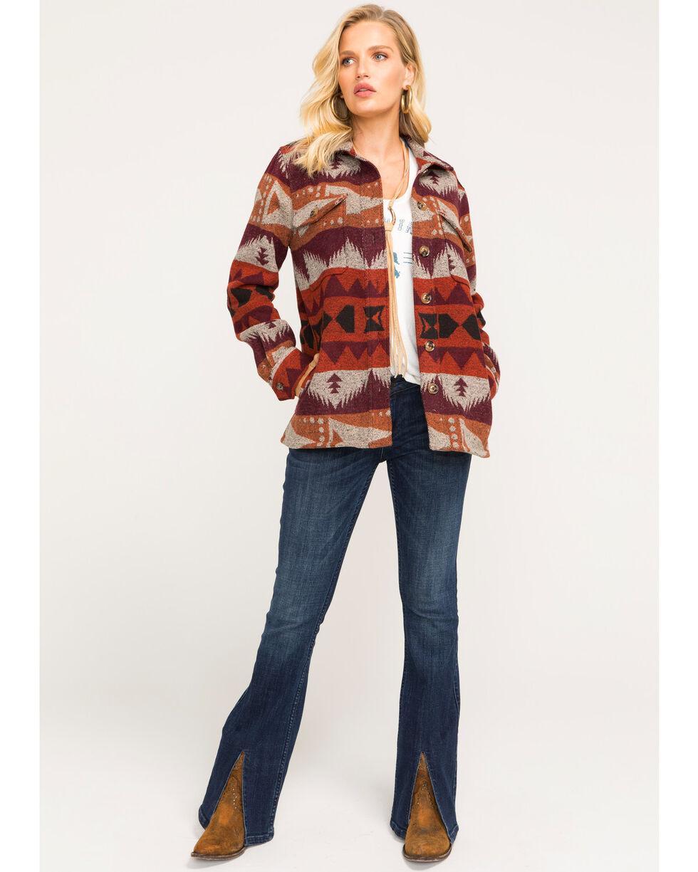 Idyllwind Women's Rising Sun Shirt Jacket, Rust Copper, hi-res