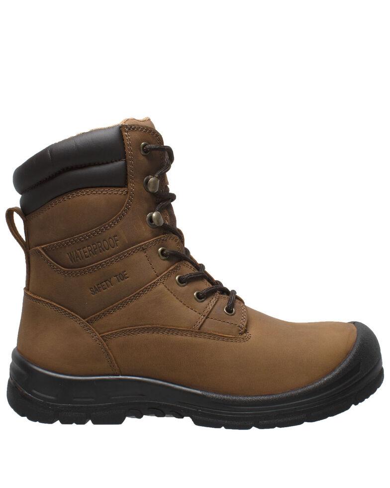 Ad Tec Men's Waterproof Work Boots - Steel Toe, Black, hi-res