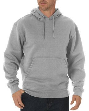Dickies Midweight Fleece Work Hoodie - Big & Tall, Hthr Grey, hi-res
