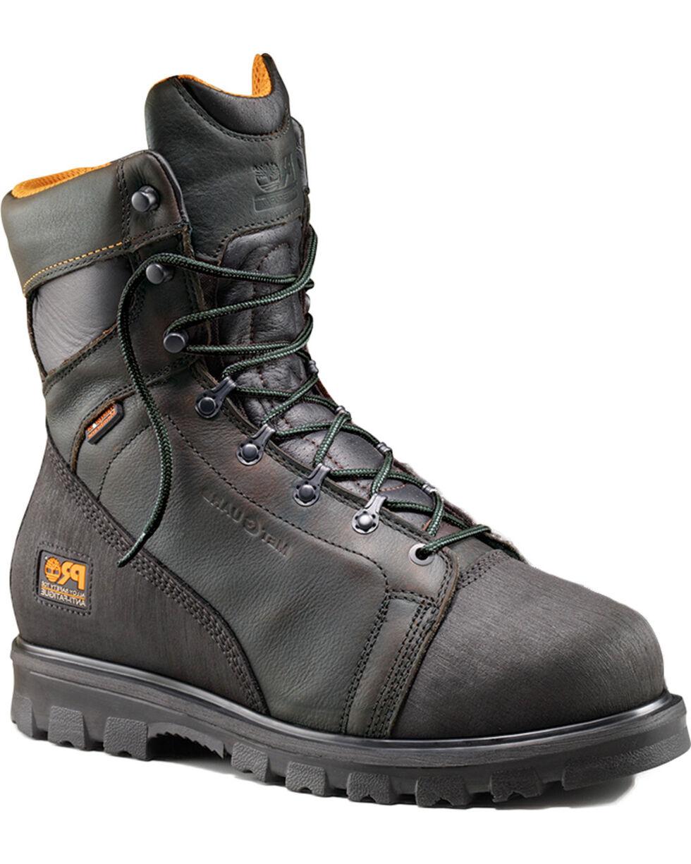 Timberland Pro Men's Rigmaster Alloy Toe Met Guard WP Boots, Brown, hi-res