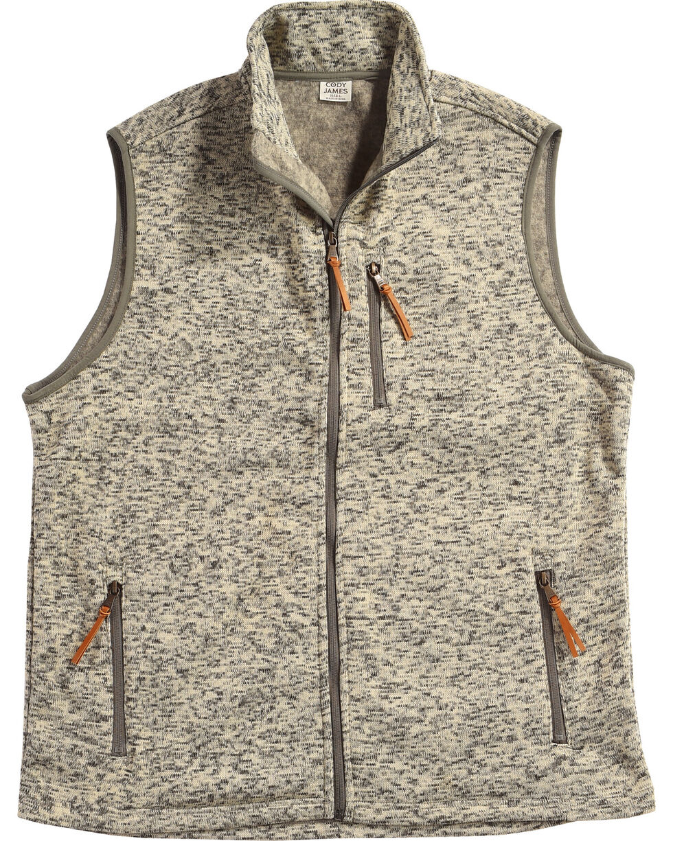 Cody James Men's Whipcrack Sweater Vest - Tall, Oatmeal, hi-res
