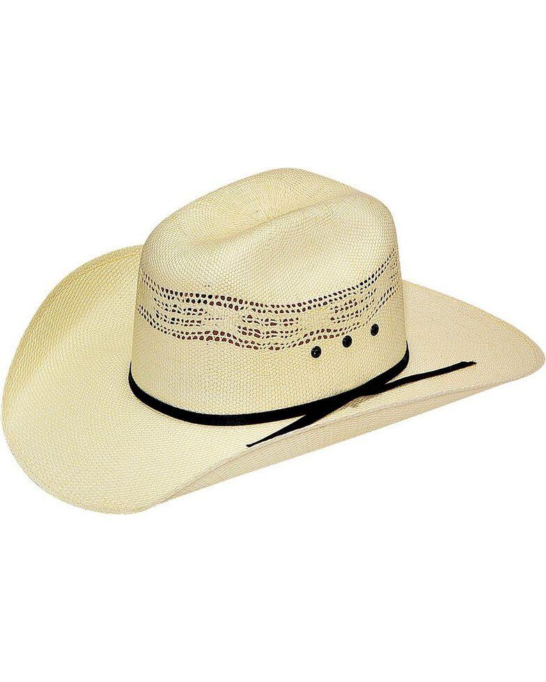Bangora Straw Hat: Twister Boys' Bangora Straw Cowboy Hat