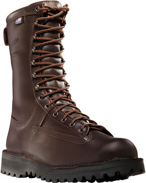 "Danner Men's Canadian 8"" Hunting Boots, Dark Brown, hi-res"