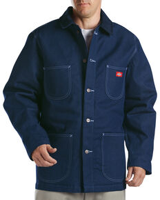 Dickies Blanket Lined Denim Chore Coat, Blue, hi-res