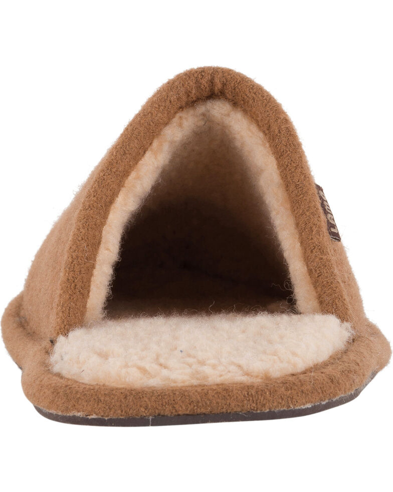 Lamo Men's Landon Wool Scuffs , Chestnut, hi-res
