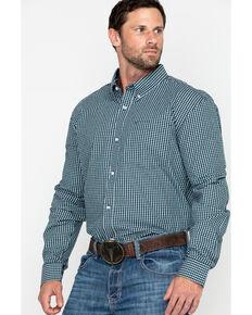 63747f4e38 Cody James Core Men s Muldoon Small Check Plaid Long Sleeve Western Shirt -  Tall