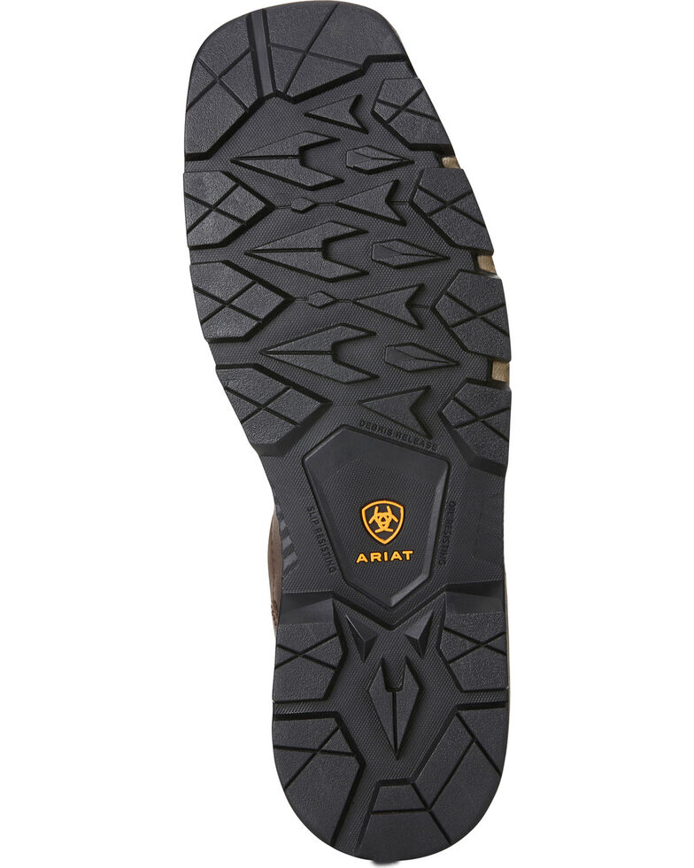 f60c05c070e Ariat Men's Rebar Flex H2O Brown Western Work Boots - Composite Toe