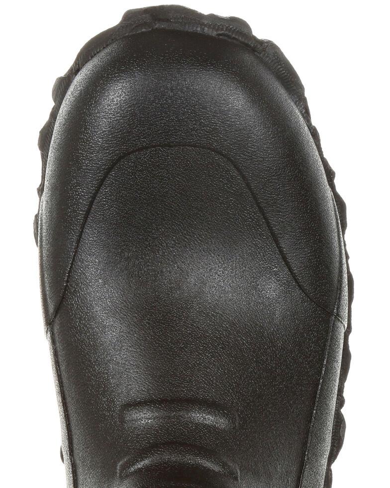 Rocky Men's Core Chore Rubber Waterproof Outdoor Boots - Round Toe, Black, hi-res