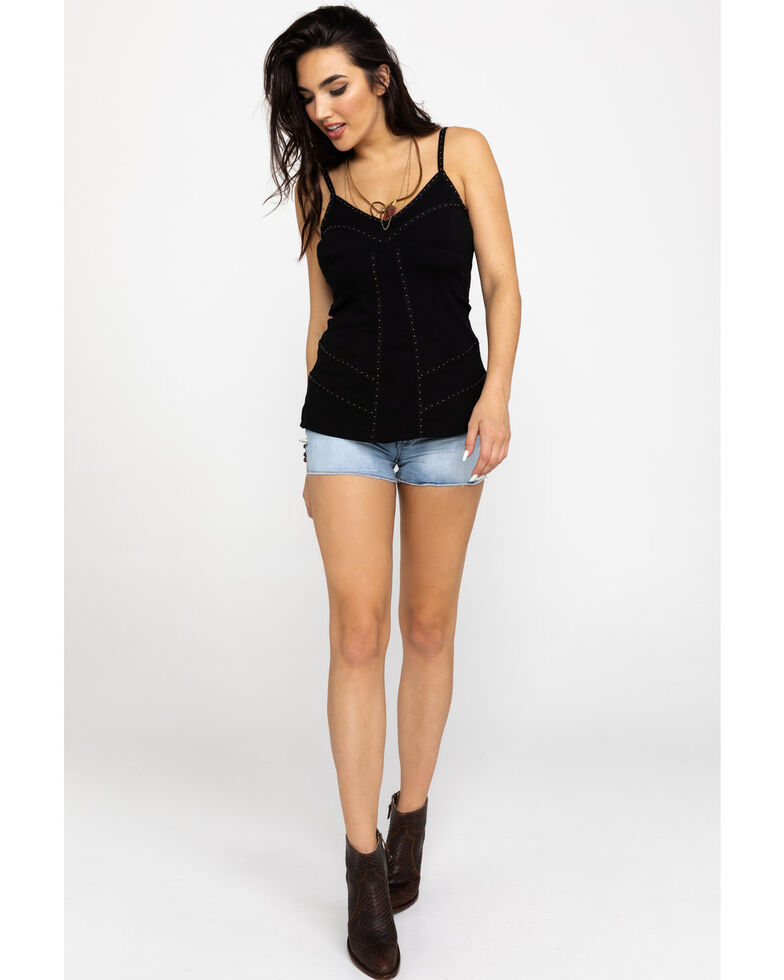 956815806 Zoomed Image Idyllwind Women's Girls Night Out Tunic Top, Black, hi-res