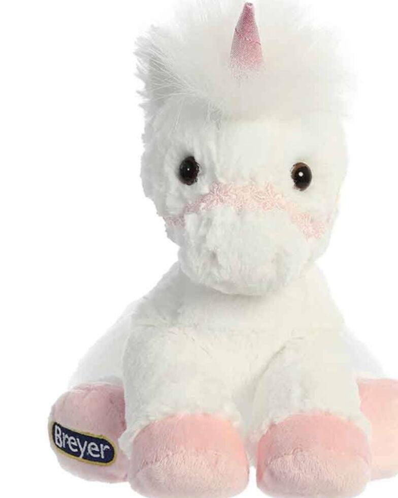 Breyer Girls' Pink Unicorn Doll, White, hi-res