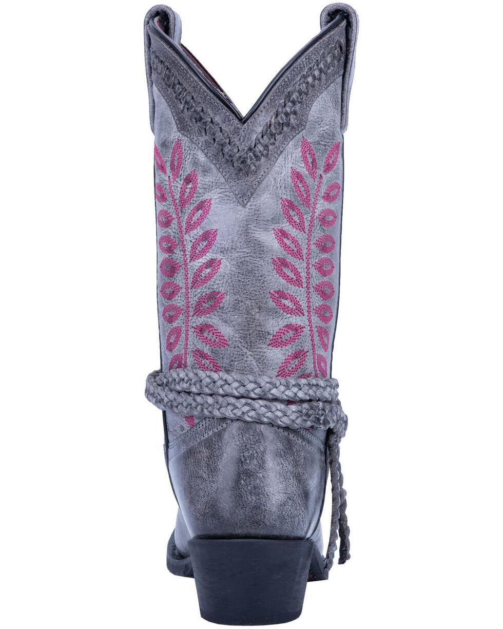 Laredo Women's Fern Grey Western Boots - Square Toe, Grey, hi-res