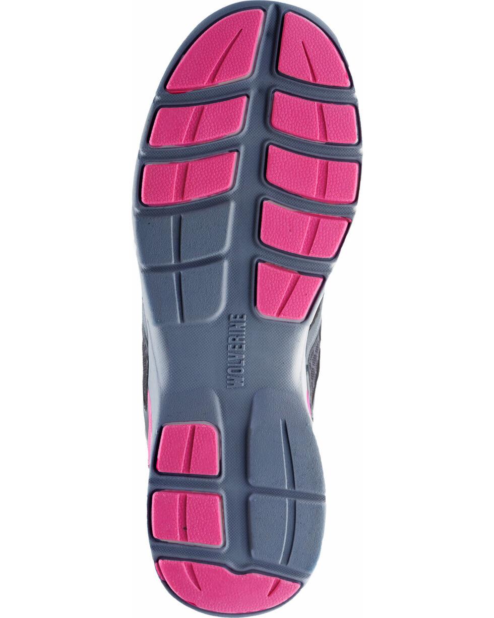 Wolverine Women's Jetstream Work Shoes - Composite Toe, Grey, hi-res