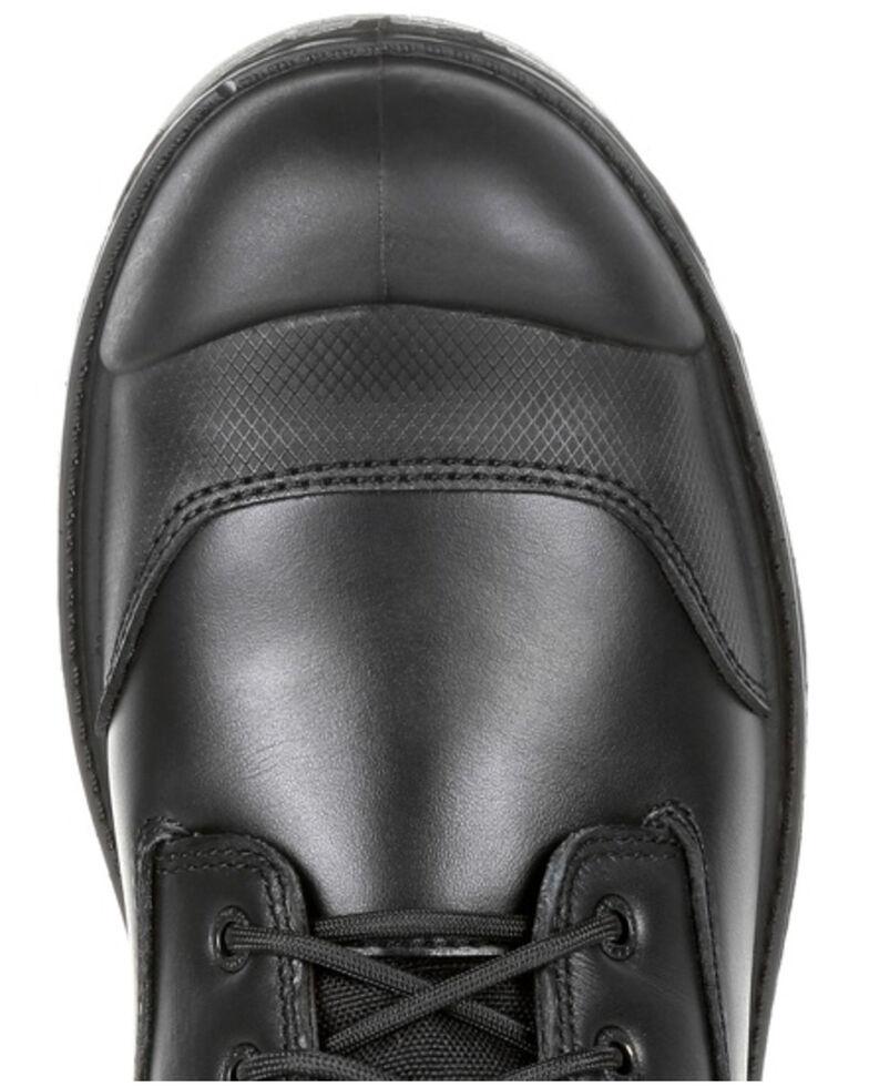 Rocky Men's Pursuit Waterproof Public Service Work Boots - Steel Toe, Black, hi-res