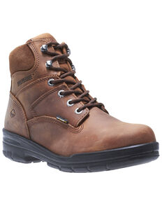 Wolverine Men's Durashocks Work Boots - Soft Toe, Brown, hi-res