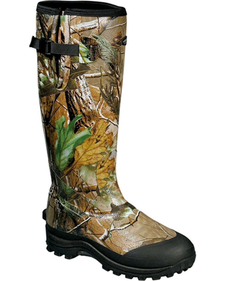 Baffin Men's Camo Rubber Ambush Waterproof Boots - Round Toe , , hi-res