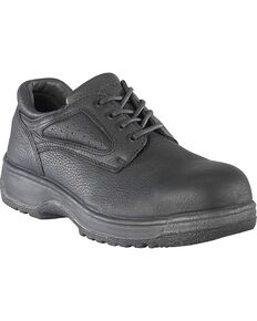 Florsheim Women's Fiesta Oxford Work Shoes - Composite Toe, Black, hi-res