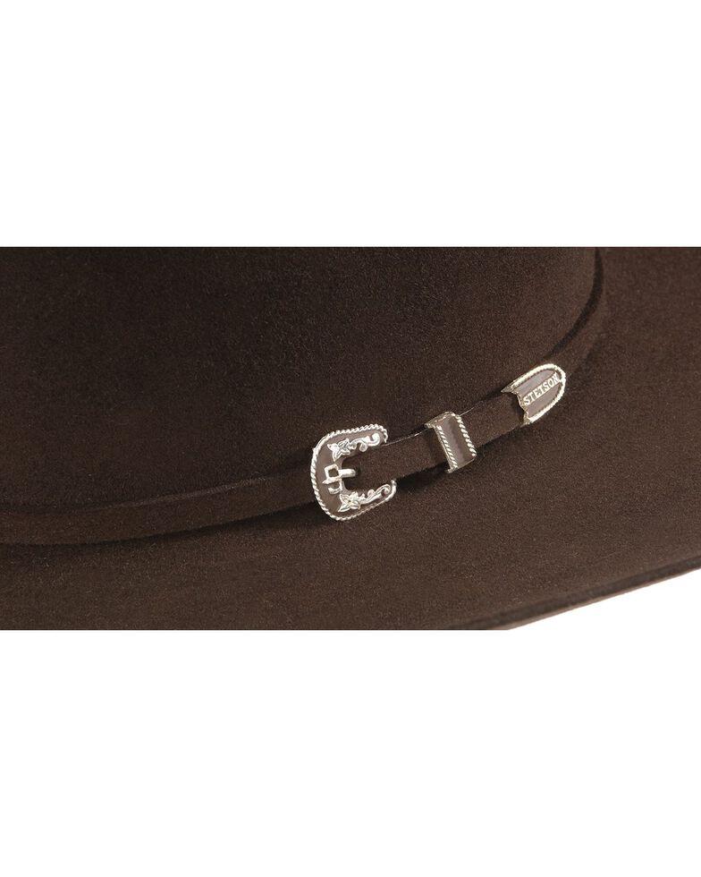 Stetson 6X Skyline Fur Felt Western Hat, Chocolate, hi-res