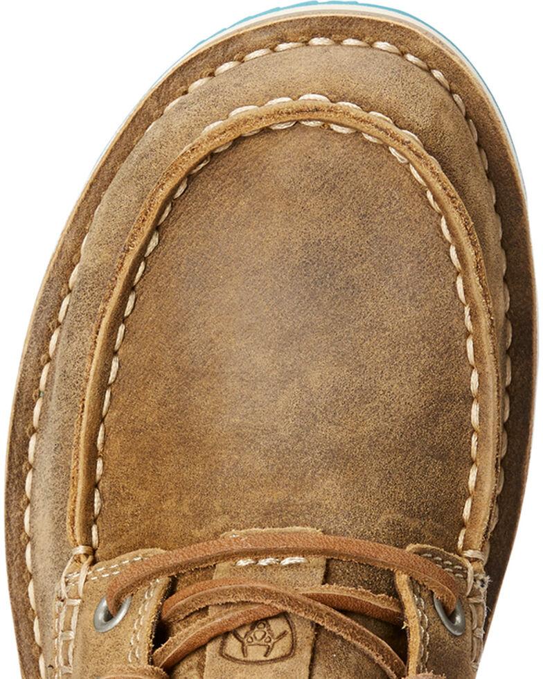 Ariat Women's Brown Cruiser Castaway Bomber Shoes , , hi-res
