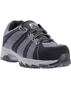 McRae Men's Non-Metallic Static Dissipative Work Shoe - Composite Toe, Black, hi-res