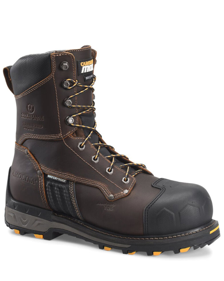 Carolina Men's Maximus 2.0 Waterproof Work Boots - Composite Toe, Dark Brown, hi-res